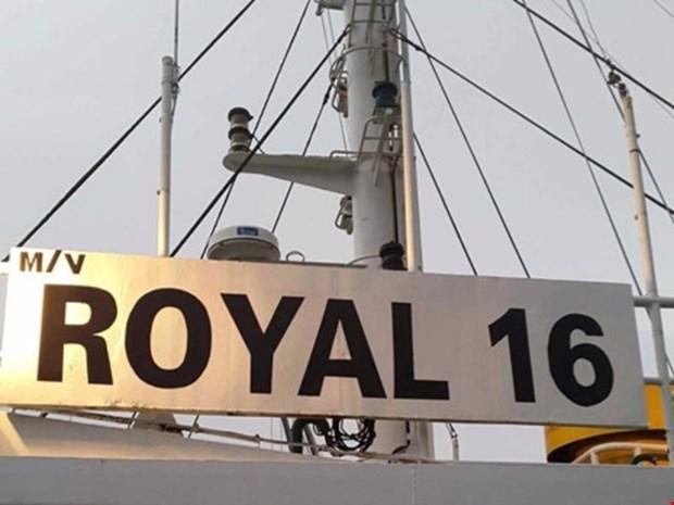 Un membre d'equipage du Royal 16 libere par les Philippines hinh anh 1