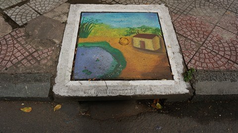 Les peintures murales gagnent du terrain a Ho Chi Minh-Ville hinh anh 1