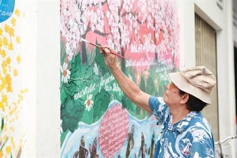 Les peintures murales gagnent du terrain a Ho Chi Minh-Ville hinh anh 2