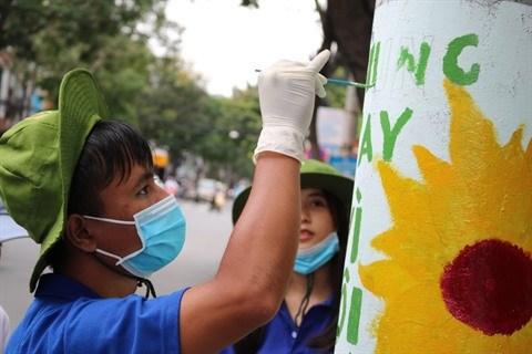 Les peintures murales gagnent du terrain a Ho Chi Minh-Ville hinh anh 4