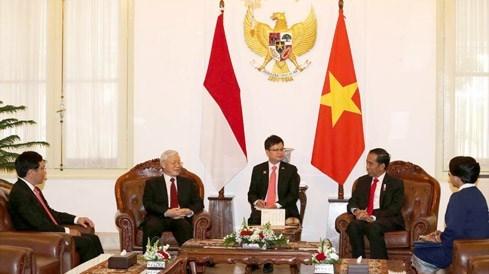La visite en Indonesie du leader du PCV dans la presse etrangere hinh anh 1