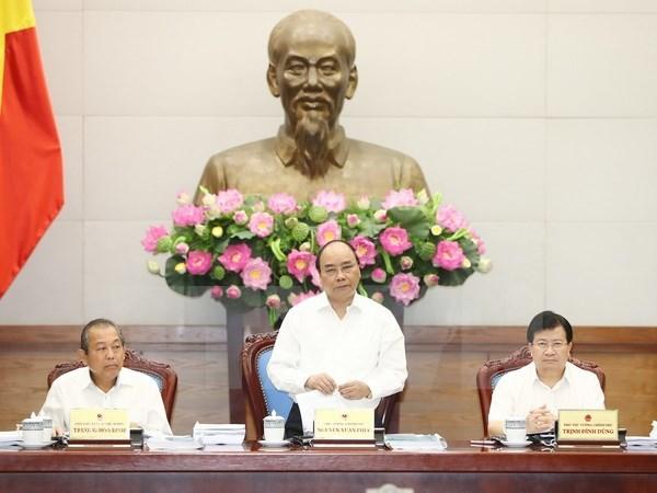 Reunion gouvernementale sur l'elaboration de lois hinh anh 1