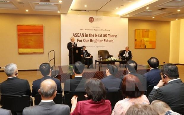 Le leader du PCV confiant en l'avenir de l'ASEAN, l'elan des liens Vietnam-Indonesie hinh anh 1