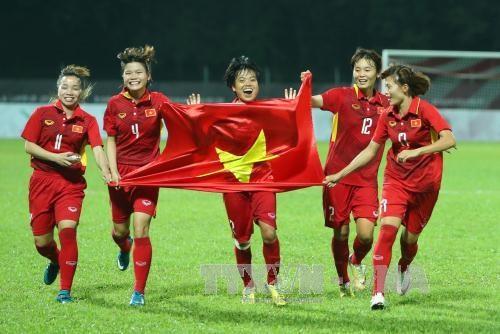 SEA Games 29 – Foot feminin : le Vietnam sur le toit de l'Asie du Sud-Est hinh anh 1
