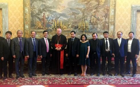Le Vietnam et le Vatican discutent de leurs relations bilaterales hinh anh 1
