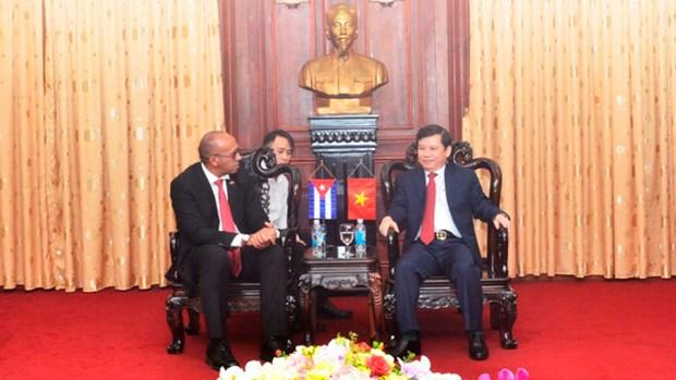 Pour les relations vietnamo-cubaines en plein essor hinh anh 2