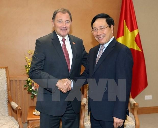 L'Etat americain de l'Utah exhortee a accroitre ses investissements au Vietnam hinh anh 1