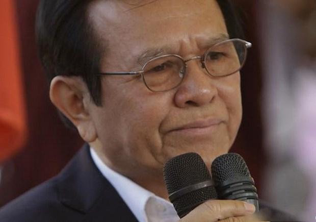 Cambodge: Le president du CNRP arrete pour trahison hinh anh 1