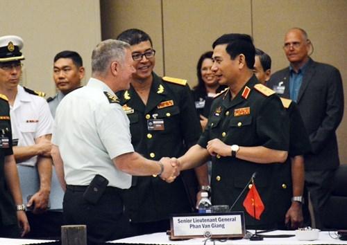 Les commandants de la defense d'Asie-Pacifique reunis au Canada hinh anh 1