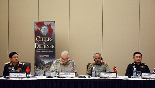 Les commandants de la defense d'Asie-Pacifique reunis au Canada hinh anh 2