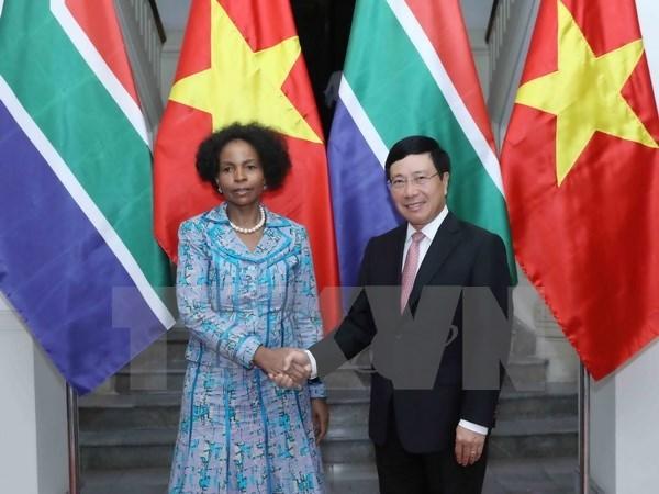 Vietnam et Afrique du Sud cherchent a promouvoir des relations profondes hinh anh 1