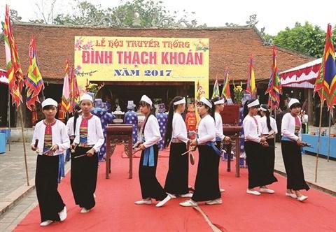 A Phu Tho, la danse traditionnelle Senh Tien sur un bon pied hinh anh 1