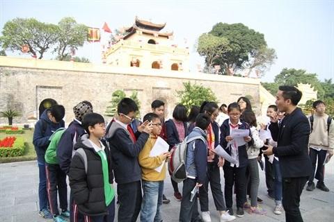 A Hanoi, l'enseignement de l'histoire illustre sur le terrain hinh anh 2