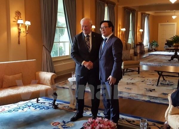 Entre le Canada et le Vietnam, une relation au beau fixe hinh anh 1