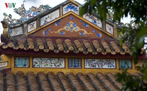 La litterature gravee sur l'architecture royale de Hue exposee a Hanoi hinh anh 2