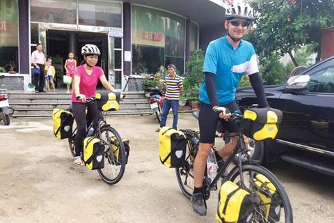 Un couple vietnamo-hongrois et son periple de 11.000 km a velo hinh anh 5