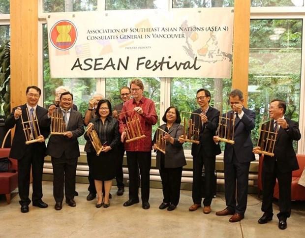 Le Festival de l'ASEAN 2017 s'ouvre a Vancouver hinh anh 1