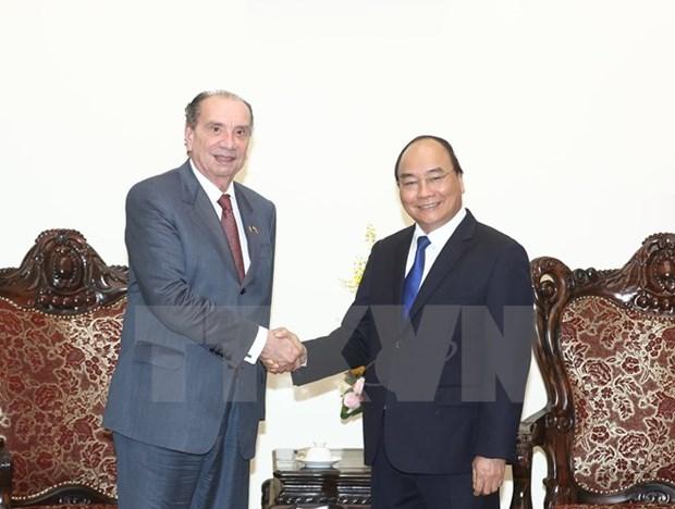 Le PM invite les entreprises bresiliennes a investir au Vietnam hinh anh 1