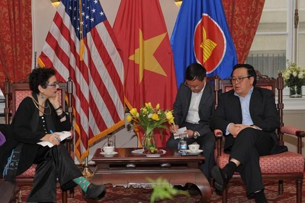 Le Vietnam et les Etats-Unis veulent impulser leurs liens hinh anh 1