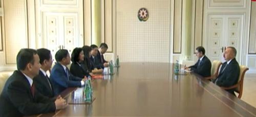 Une delegation du PCV en visite de travail en Azerbaidjan hinh anh 1