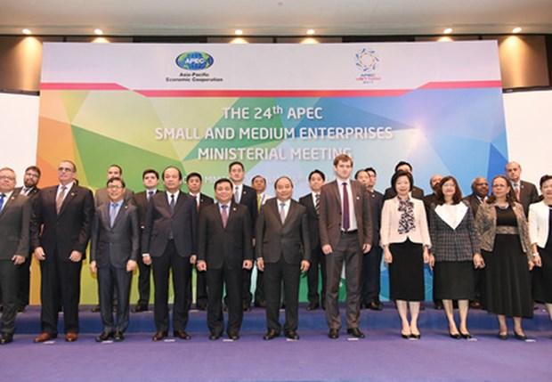 Le PM Nguyen Xuan Phuc appelle l'APEC a soutenir les PME hinh anh 2