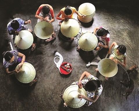 Les chapeaux coniques, charme iconique de Hue hinh anh 2