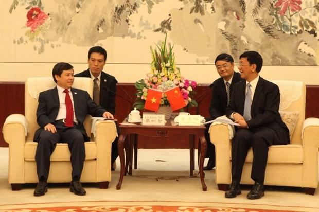 Le president du Parquet populaire supreme du Vietnam se rend en Chine hinh anh 1