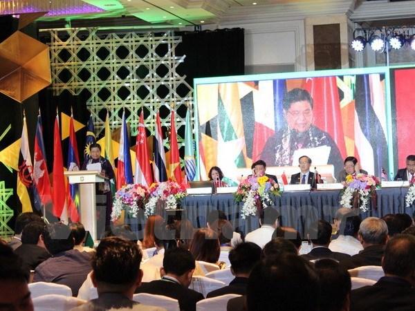 Le Vietnam propose des mesures pour renforcer davantage le role de l'AIPA hinh anh 1