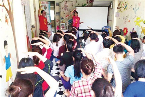 La meditation Sahaja Yoga fait son nid a Da Nang hinh anh 1