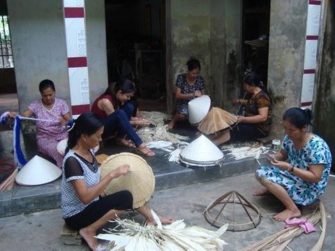 A Chuong, le village qui preserve la quintessence du non hinh anh 2