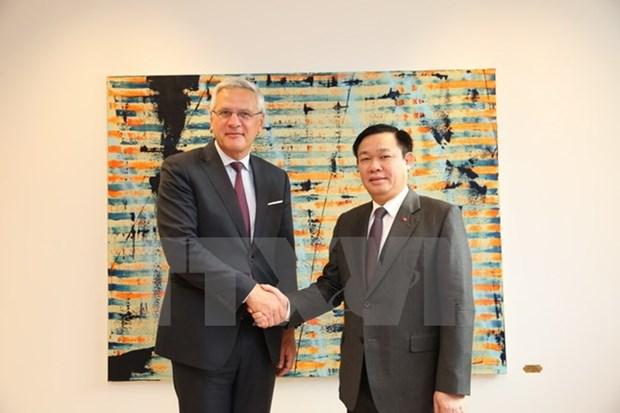 Vietnam et Belgique promeuvent les relations de cooperation bilaterale hinh anh 1