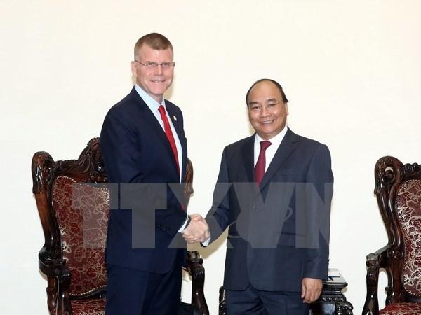Le Premier ministre Nguyen Xuan Phuc salue l'assistance de la BAD hinh anh 1