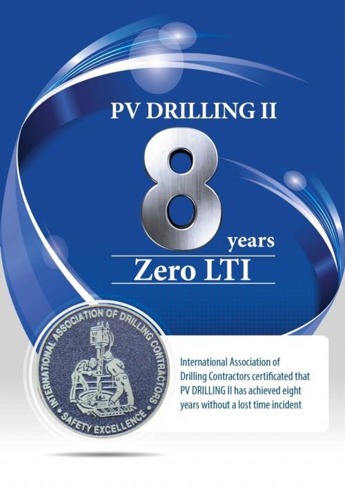 La plate-forme de forage PV Drilling II recompensee par l'IADC hinh anh 2