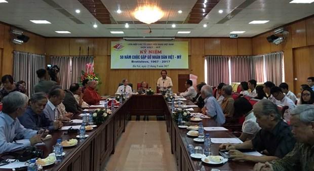 Vietnam-Etats-Unis : celebration du 50e anniversaire de la rencontre de Bratislava hinh anh 1