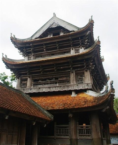 A la (re)decouverte de la pagode Keo, un tresor architectural hinh anh 2