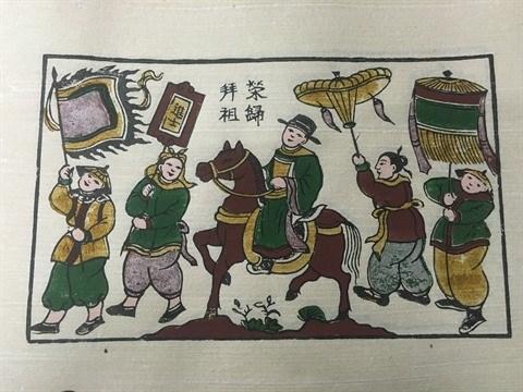 Dong Ho, des estampes populaires et des hommes hinh anh 2