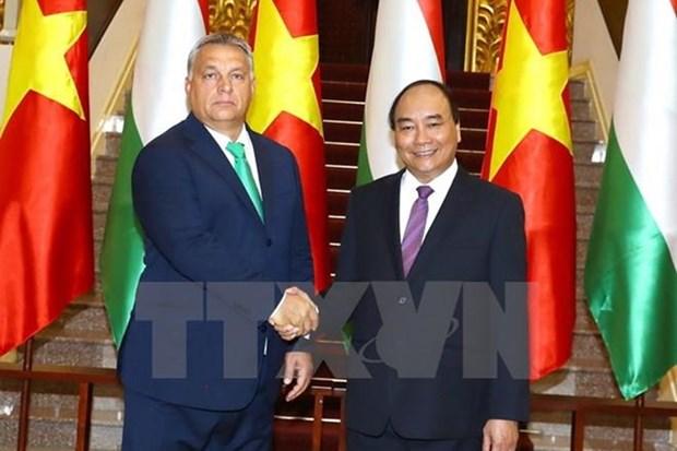 Le Vietnam et la Hongrie s'engagent a approfondir leurs liens hinh anh 1
