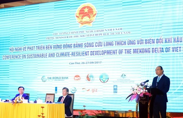Le PM demande au delta du Mekong de developper une agriculture intelligente et durable hinh anh 1