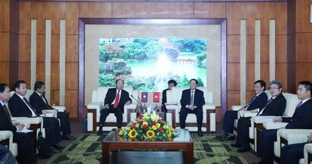 Vietnam-Laos: les ministeres de l'Interieur renforcent leurs liens hinh anh 1