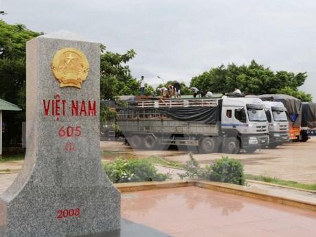 Vietnam-Laos: une frontiere d'amitie, de cooperation et de developpement hinh anh 1