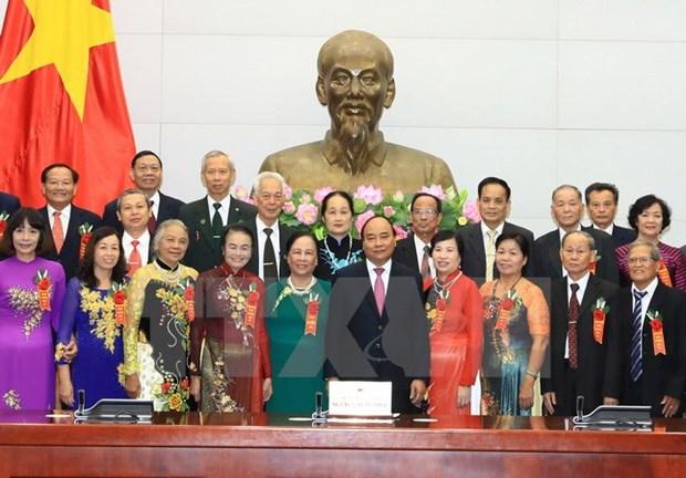 Le chef du gouvernement salue le role des personnes agees hinh anh 1