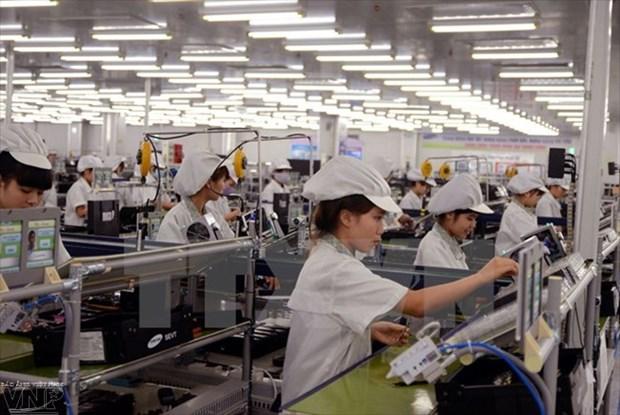 L'indice de la production industrielle progresse de 13,2% en septembre hinh anh 1