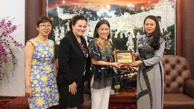 L'Association des Femmes vietnamiennes renforce sa cooperation avec l'ONU Femmes hinh anh 1