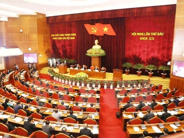 Le Comite central du Parti elit deux nouveaux membres au Secretariat hinh anh 1