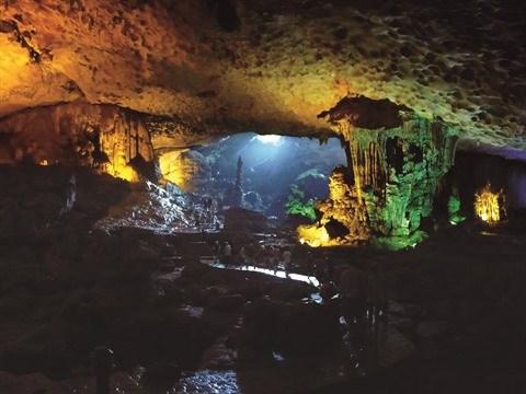 A la decouverte de la grotte de Dau Go dans la baie de Ha Long hinh anh 1