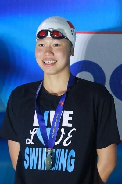 Dix nouveaux records etablis lors du championnat de natation 2017 hinh anh 1