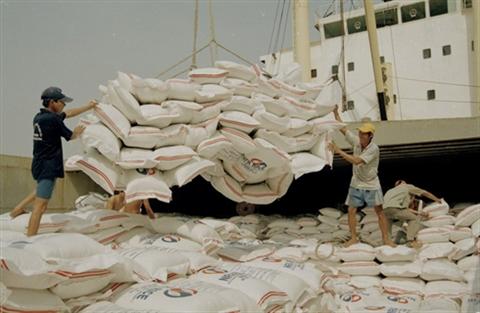 2017, une bonne annee pour les exportations nationales de riz hinh anh 1
