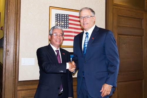 Le Vietnam fait bon accueil aux entreprises de Washington hinh anh 1