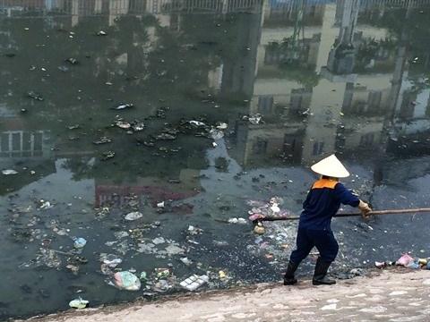 Hanoi cherche a sauver ses plans d'eau hinh anh 1