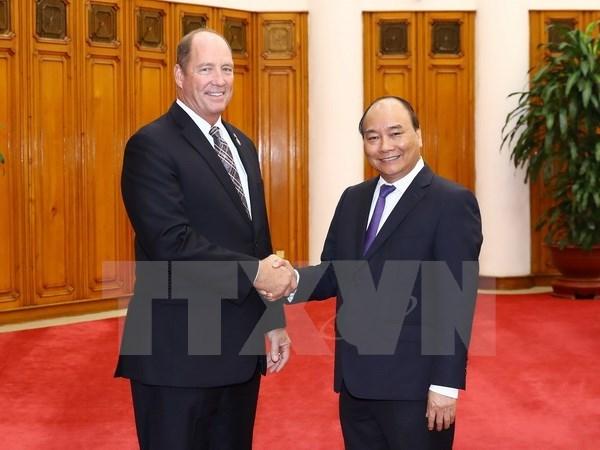 Le Vietnam aspire a developper son partenariat integral avec les Etats-Unis hinh anh 1